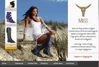 Designed by Miss web site home page