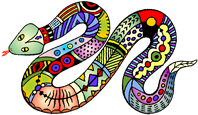 Rainbow Snake Theme for Lismore Heritage Centre